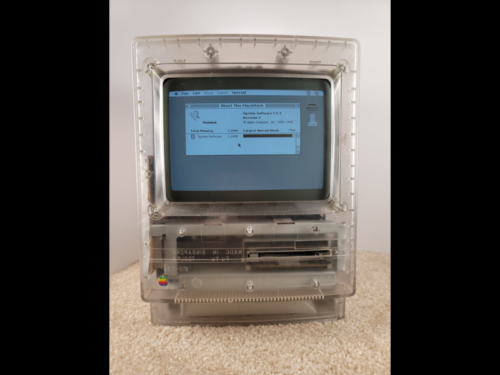 Translucent Macintosh Classic Prototype