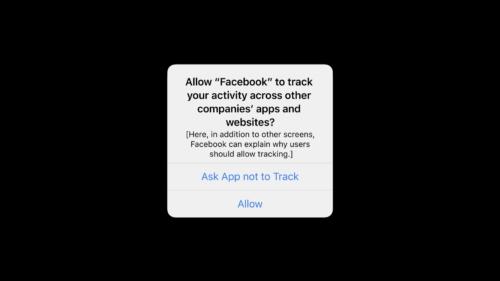 iOS 14.4 Privacy Notice