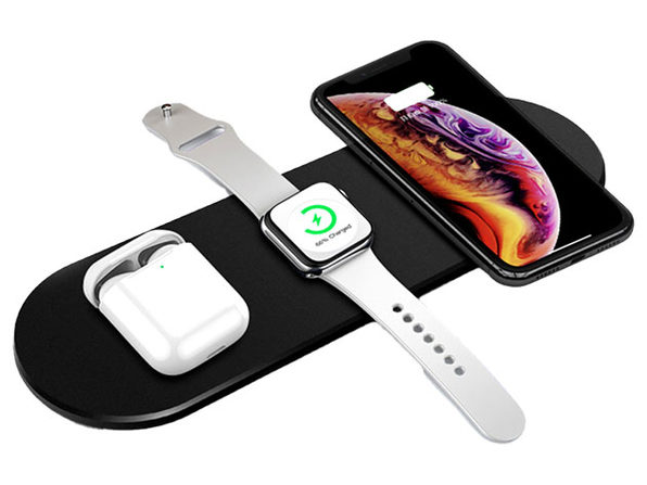 MacTrast Deals: 3-in-1 Ultra-Thin Fast Wireless Charging Pad