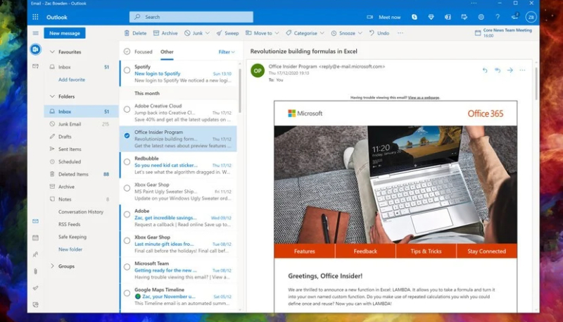Microsoft Planning to Replace Outlook for Mac With Universal Web-Based Client