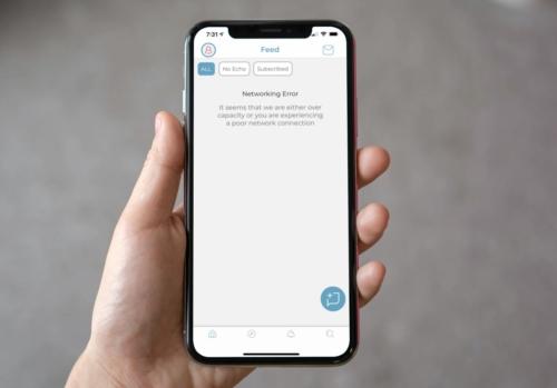 Parler Loading Error on iPhone