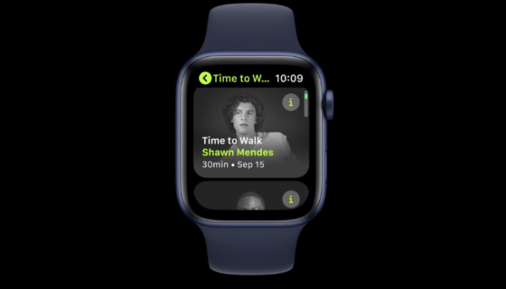 watchOS 7.3 Time to Walk