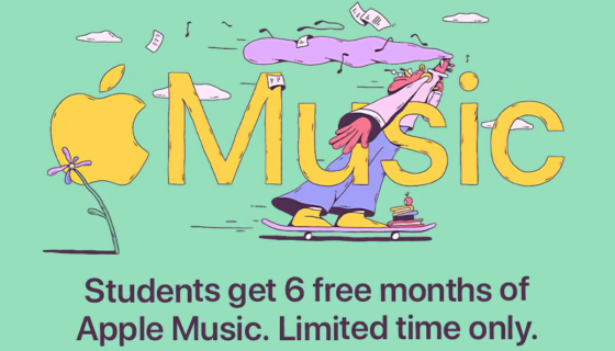 Apple Music Students Promotion