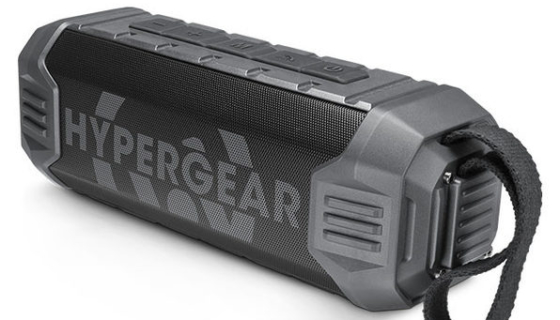 HyperGear Quake Wireless Speaker with Built-in Power Bank