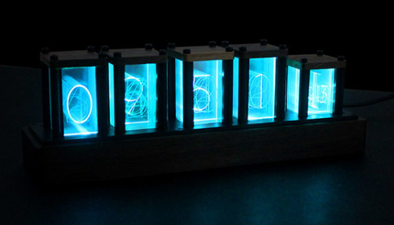 RGB Clock Ambient Night Light