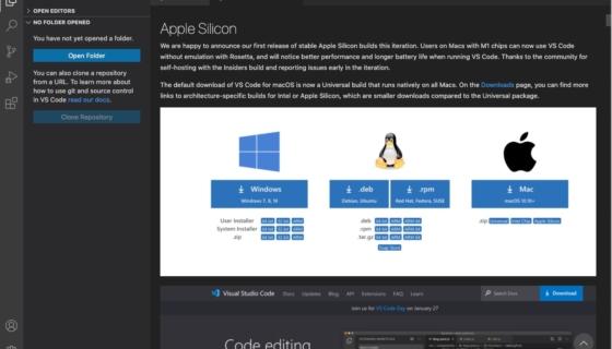 Visual Studio Code 1.54.1