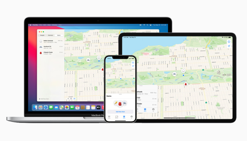 Apple's Find My Network Provides Support for Third-Party Finding Devices
