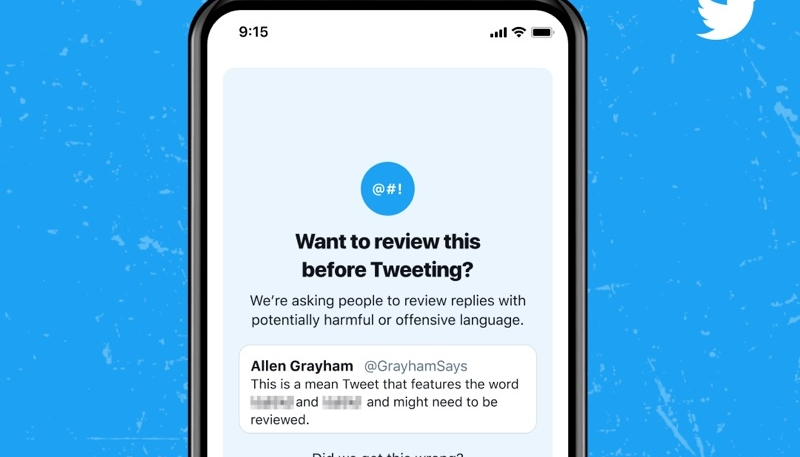Offensive Tweet Warning Feature Launching on Twitter for iOS and Android