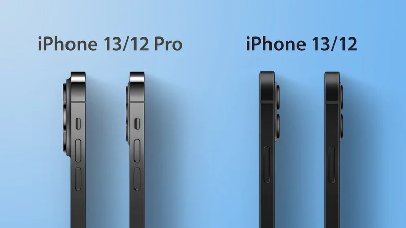 'iPhone 13' Models to Be Slightly Thicker, With Noticeably Larger Camera Bumps